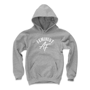 Feminist Kids Youth Hoodie | 500 LEVEL