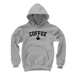 Coffee Kids Youth Hoodie | 500 LEVEL