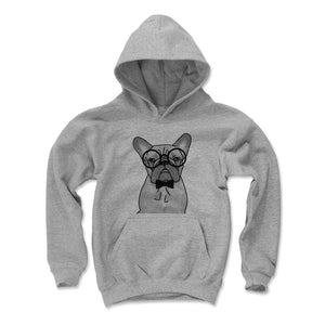 French Bulldog Kids Youth Hoodie | 500 LEVEL