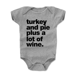 Thanksgiving Food Kids Baby Onesie | 500 LEVEL