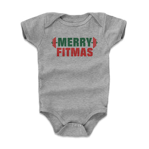 Christmas Workout Kids Baby Onesie