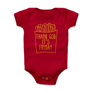 French Fries Kids Baby Onesie