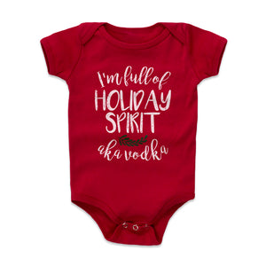 Christmas Drinking Kids Baby Onesie