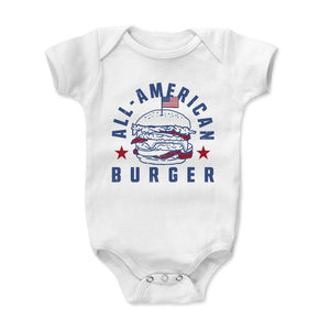Burger Kids Baby Onesie | 500 LEVEL