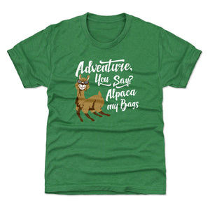 Adventure Humor Kids T-Shirt | Bald Eagle Tees