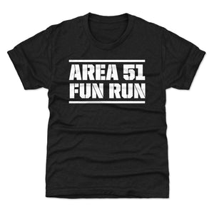 Funny Area 51 Kids T-Shirt | 500 LEVEL