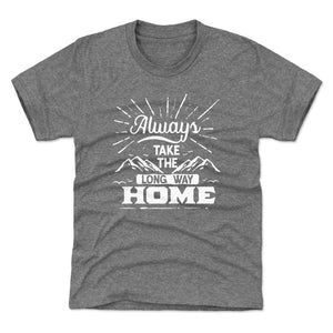 Hiking Lover Kids T-Shirt | Bald Eagle Tees