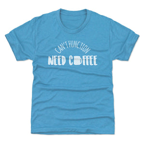 Funny Coffee Kids T-Shirt | 500 LEVEL