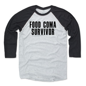 Food Coma Men's Baseball T-Shirt | 500 LEVEL