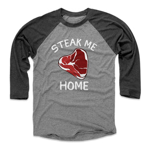 Steak Men's Baseball T-Shirt