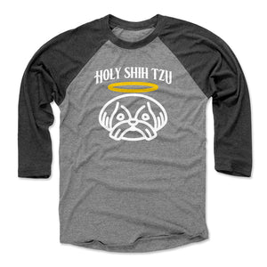 Funny Shih Tzu Men's Baseball T-Shirt | 500 LEVEL