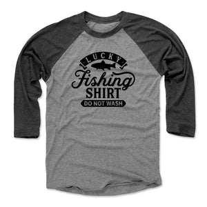 Fishing Lover Men's Baseball T-Shirt | Bald Eagle Tees