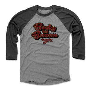 Bacon Men's Baseball T-Shirt