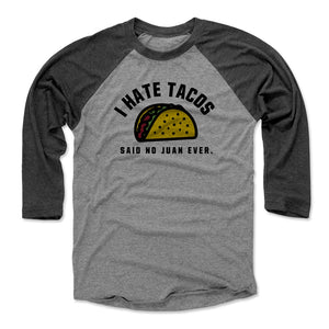 Tacos Men's Baseball T-Shirt | 500 LEVEL
