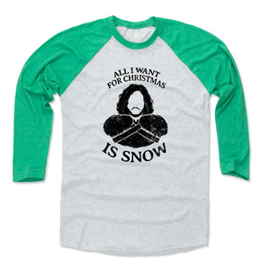 Game of Thrones Christmas Men's Baseball T-Shirt