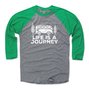 Adventure Lover Men's Baseball T-Shirt | Bald Eagle Tees