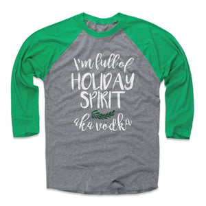 Christmas Drinking Men's Baseball T-Shirt