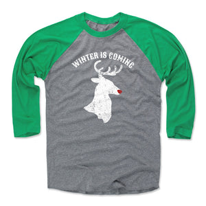 Game Of Thrones Christmas Men's Baseball T-Shirt | 500 LEVEL