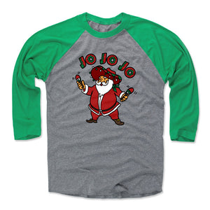 Christmas Santa Men's Baseball T-Shirt | 500 LEVEL