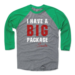 Christmas Party Men's Baseball T-Shirt | 500 LEVEL