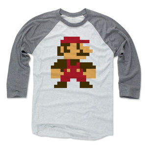Super Mario Bros. Men's Baseball T-Shirt