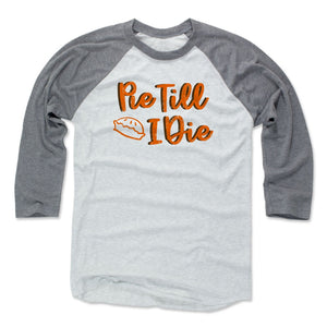 Thanksgiving Pie Men's Baseball T-Shirt