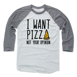 Pizza Men's Baseball T-Shirt