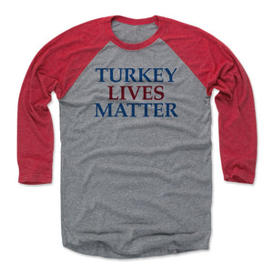 Funny Thanksgiving Day Men's Baseball T-Shirt | 500 LEVEL
