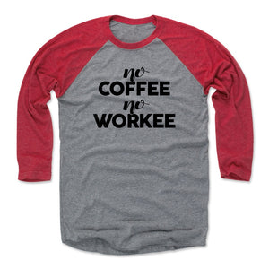 Funny Coffee Men's Baseball T-Shirt