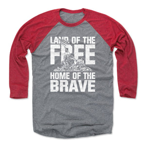 Patriotic Men's Baseball T-Shirt | 500 LEVEL