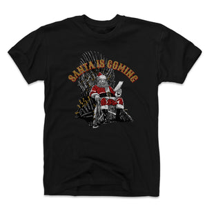 Game Of Thrones Christmas Men's Cotton T-Shirt