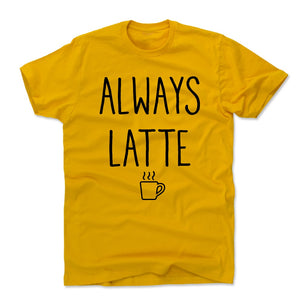 Latte Men's Cotton T-Shirt