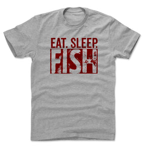 Fishing Lover Men's Cotton T-Shirt | Bald Eagle Tees