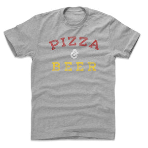 Pizza Men's Cotton T-Shirt | 500 LEVEL