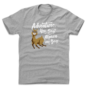 Adventure Humor Men's Cotton T-Shirt | Bald Eagle Tees