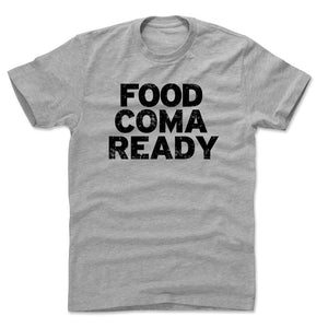 Food Coma Men's Cotton T-Shirt | 500 LEVEL