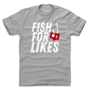 Funny Fishing Men's Cotton T-Shirt | Bald Eagle Tees