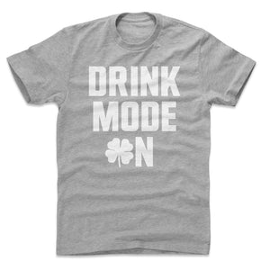 St. Patrick's Day Drinking Men's Cotton T-Shirt | 500 LEVEL