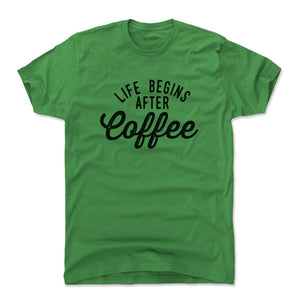 Funny Coffee Men's Cotton T-Shirt