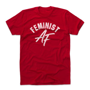 Feminist Men's Cotton T-Shirt | 500 LEVEL