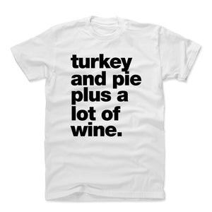 Thanksgiving Food Men's Cotton T-Shirt | 500 LEVEL
