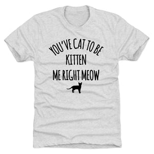 Punny Cat Men's Premium T-Shirt | 500 LEVEL