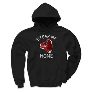 Steak Men's Hoodie | 500 LEVEL