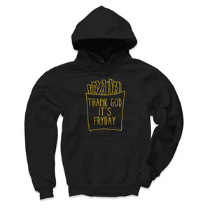 French Fries Men's Hoodie