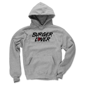 Burger Men's Hoodie | 500 LEVEL