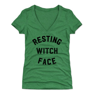 Resting Witch Women's V-Neck T-Shirt