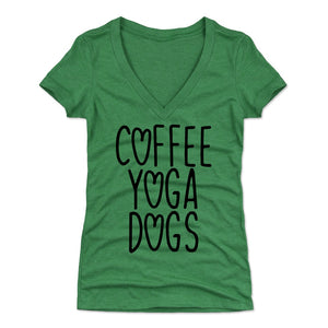Coffee Women's V-Neck T-Shirt | 500 LEVEL
