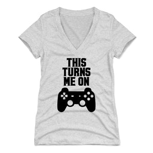 Playstation Women's V-Neck T-Shirt