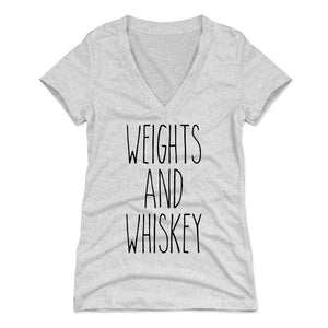 Funny Workout Women's V-Neck T-Shirt | 500 LEVEL