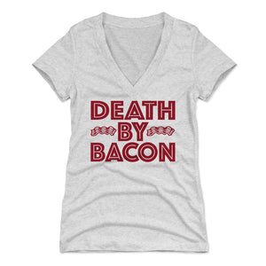 Bacon Women's V-Neck T-Shirt | 500 LEVEL